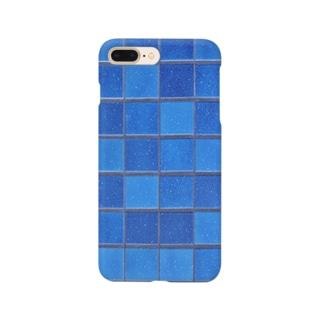 粋な群青 Smartphone cases