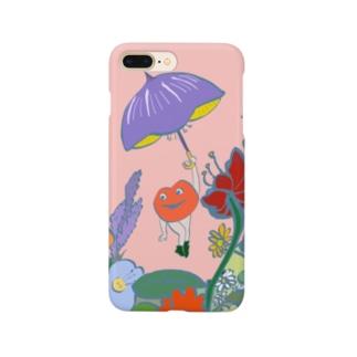 アンブレラとリップ星人のリップちゃん Smartphone cases