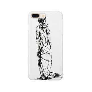 半裸の男性 Smartphone cases