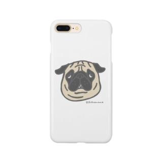 フォーンパグちゃん Smartphone cases