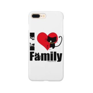 I LOVE Family Smartphone cases