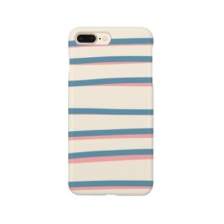 しましま Smartphone cases