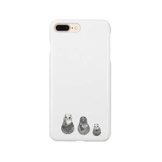 ネコリョーシカ Smartphone cases
