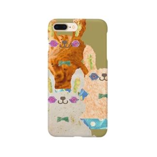 マテうさぎ🐇の iPhoneケース Smartphone cases