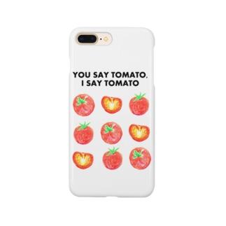 トマトデザイン「埒が明かない」 Smartphone cases