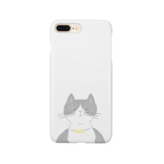 はちわれ猫 Smartphone cases