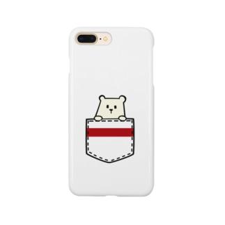 ポケくま Smartphone cases