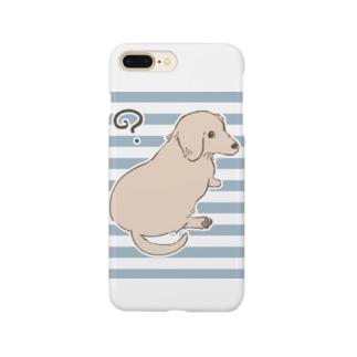 見返り美犬 Smartphone cases