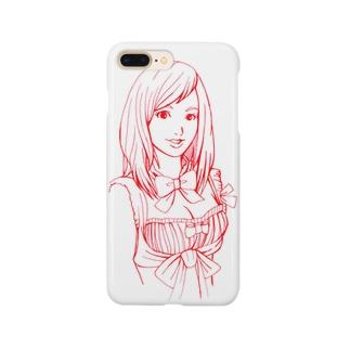メイドさん壱 Smartphone cases