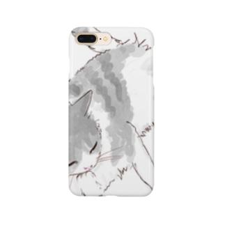 ぺろぺろ猫ちゃん Smartphone cases