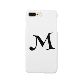 イニシャル M Smartphone cases