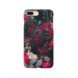 薔薇と鳩 Smartphone cases