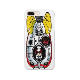 レトロフューチャー Smartphone cases