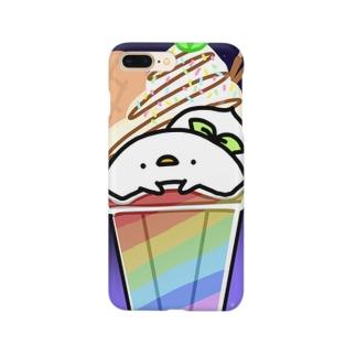 シフォン〜なないろサンデーVer.〜 Smartphone cases