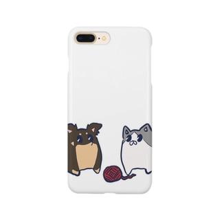 いぬとねこ Smartphone cases