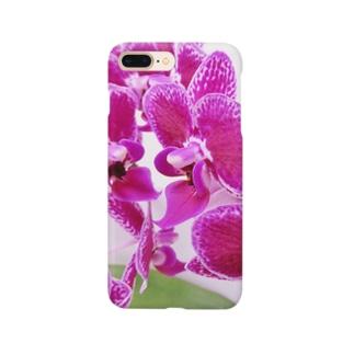 縁起花 コチョウラン Smartphone cases