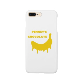 penny's chocolate Smartphone cases