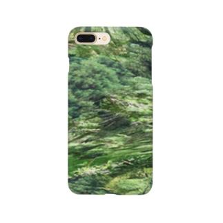 うねる森のイメージ  Smartphone cases