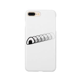 すばやいおにぎり Smartphone cases