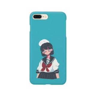 傾かないでヨ Smartphone cases
