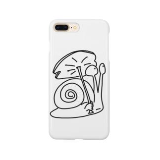カタツムリ Smartphone cases