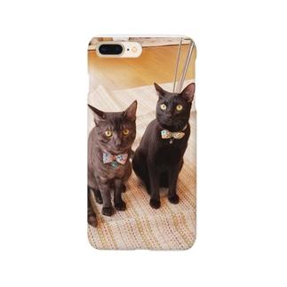 豆  ユパ Smartphone cases