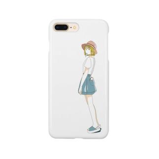 夏のアイス Smartphone cases
