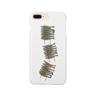 わかさぎのいかだ焼き Smartphone cases