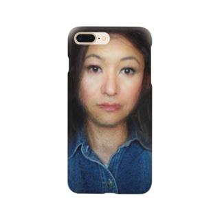 謎の美女 Smartphone cases
