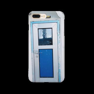 SAKANA TABETAI PROJECTの船の扉 Smartphone cases
