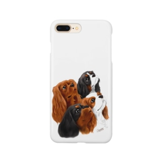 キャバリア№08 4Colors Smartphone cases