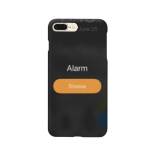 朝気づいたらスクショしがちな画面 Smartphone cases
