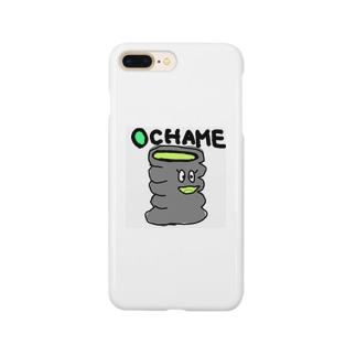 お茶め Smartphone cases