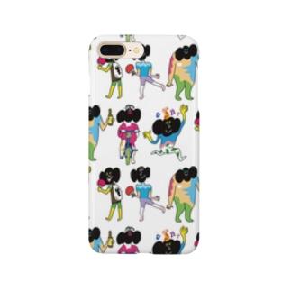 カラフルベルちゃん Smartphone cases