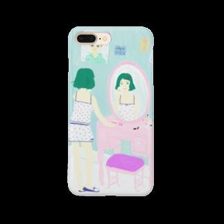 azu_pekoのメイクアップ Smartphone cases