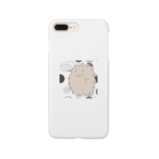 "A living hairball ""DON"" Smartphone cases"