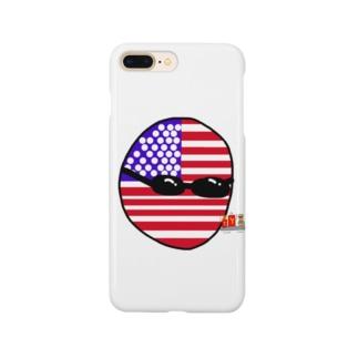 USAあめりかボール(アメリカボール)  Smartphone cases