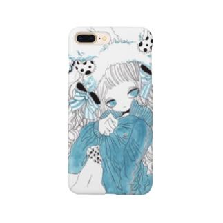 水縹ジャージ Smartphone cases
