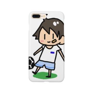 サッカー少年 Smartphone cases