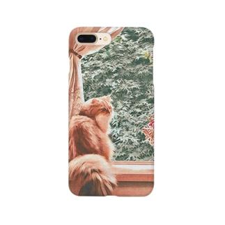 窓辺の猫こべびちゃん  Smartphone cases