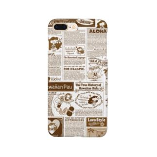 KAPUAの英字新聞 Smartphone cases