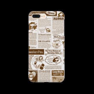 HOLO HOLO MARKET CHIGASAKIのKAPUAの英字新聞 Smartphone cases