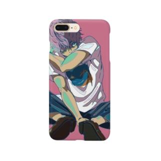 サンプルくん Smartphone cases
