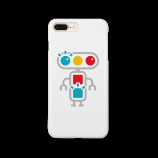 青点滅のグッズ売り場のキャラクター Smartphone cases