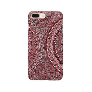 幻燈的赤の円 Smartphone cases