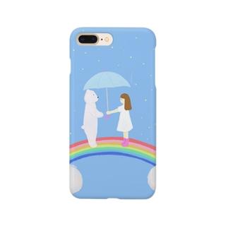 虹の上でまちあわせ Smartphone cases