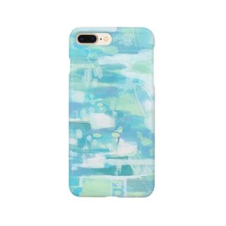 幾重にもかさなる音楽 B Smartphone cases