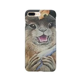 カワウソたんスマホケース Smartphone cases