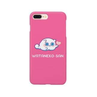 わたねこさん Smartphone cases
