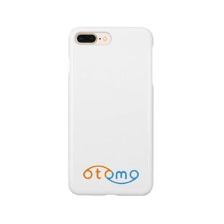 otomoカラー・ロゴのみ Smartphone cases